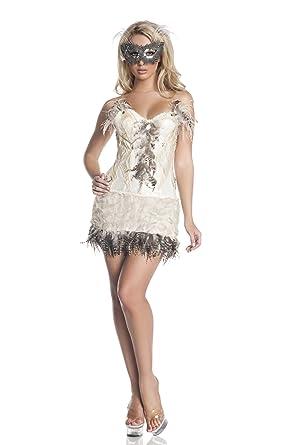 sc 1 st  Amazon.com & Amazon.com: Mystery House Snowy Owl Costume Ivory X-Large: Clothing
