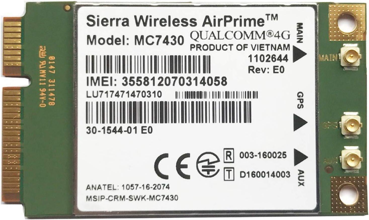 Fransande MC7430 LTE 4G Tarjeta FDD-LTE TDD-LTE CAT6 HSPA + ...
