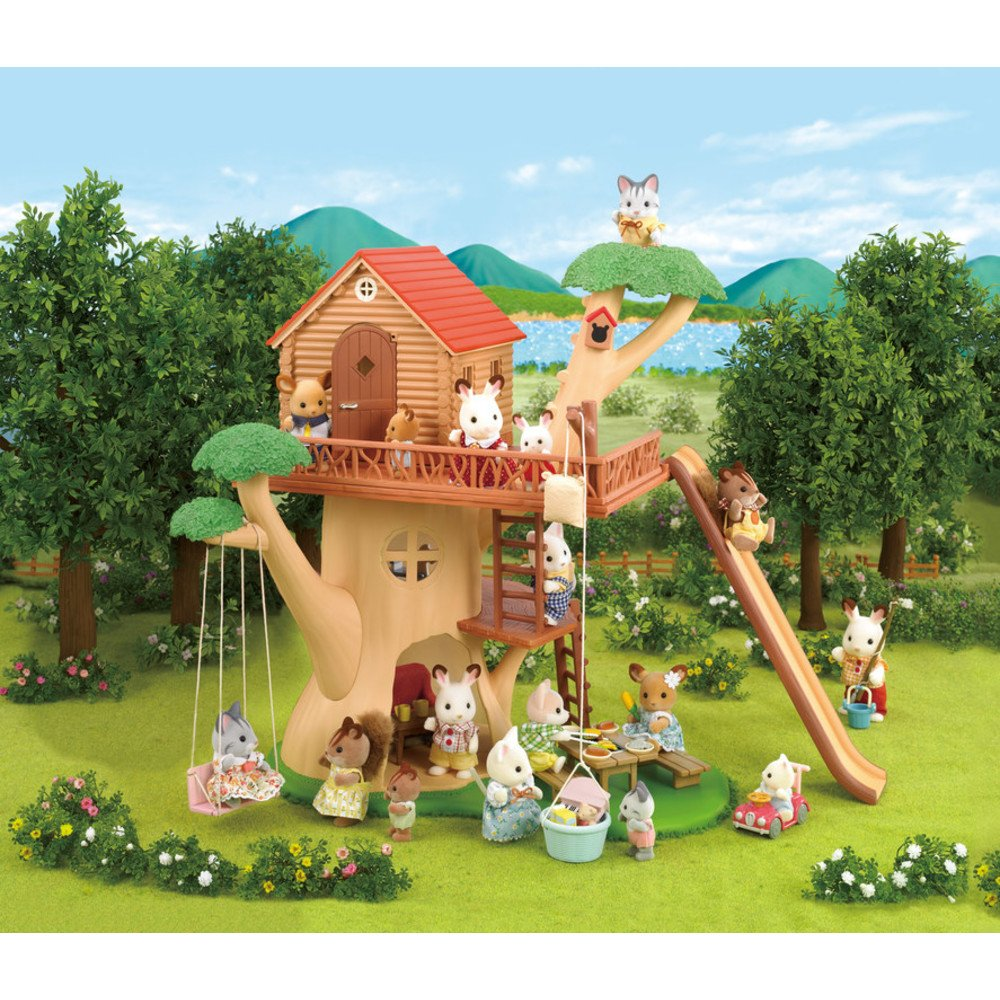 amazon com calico critters adventure tree house toys u0026 games