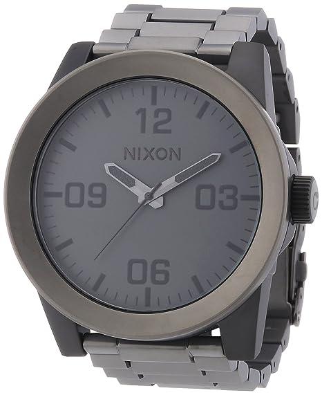 Nixon A3461062-00 - Reloj analógico de cuarzo para hombre con correa de acero inoxidable
