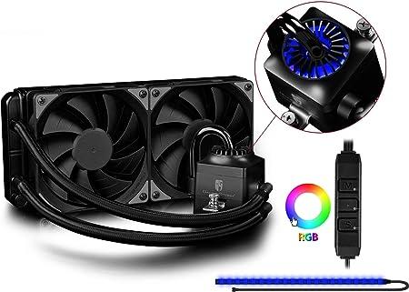 DEEPCOOL Captain 240EX RGB Plus Refrigeración Líquida CPU ...