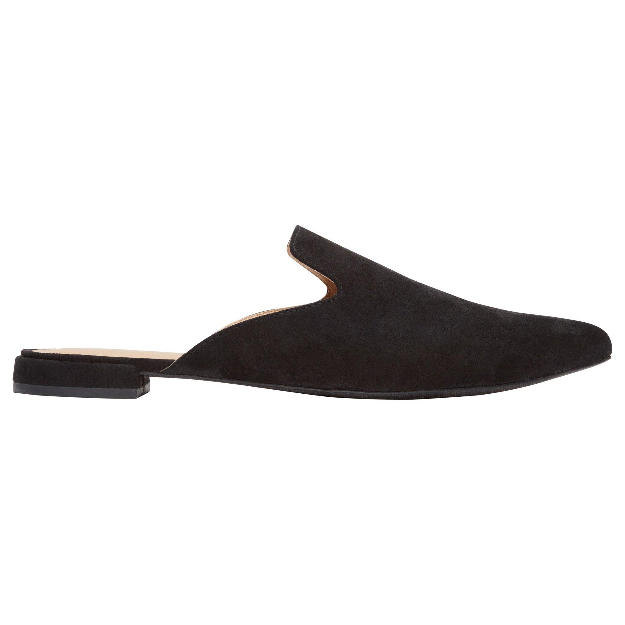 Rohb by Joyce Azria Maison Almond Toe Mule (Black) Size 9.5