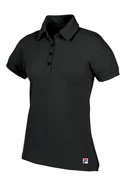 28d87148 Amazon.com: Fila Golf Women's Jakarta Polo Shirt (X-Small, Black ...