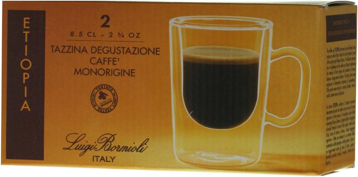 Tazzina per caff/è modello Etiopia 8,5 cl Luigi Bormioli