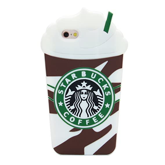 Amazon Casesophy 3d Brown Frappuccinos Starbucks Coffee Case