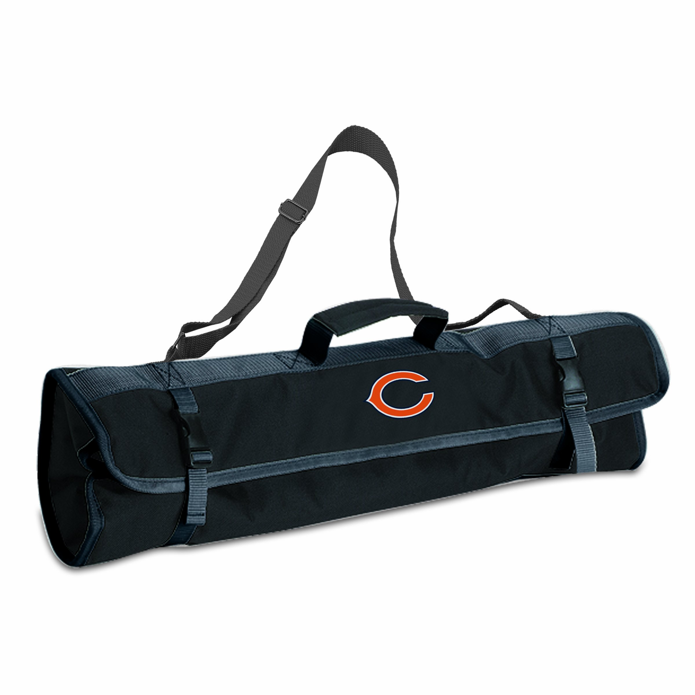 PICNIC TIME NFL Chicago Bears 3-Piece BBQ Tool Tote