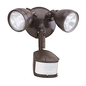 All Pro Outdoor Security MS248 240-Degree Motion-Activated ...