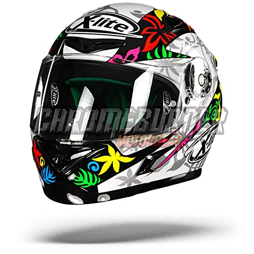 X-Lite x-802rr Replica D. Petrucci casco integral moto Composite Fibra,