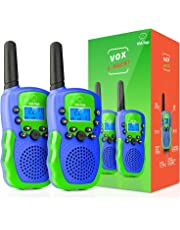 USA Toyz Walkie Talkies for Kids - Vox Box Voice Activated Two Way Radio Walkie Talkie Kids Toys 2pk