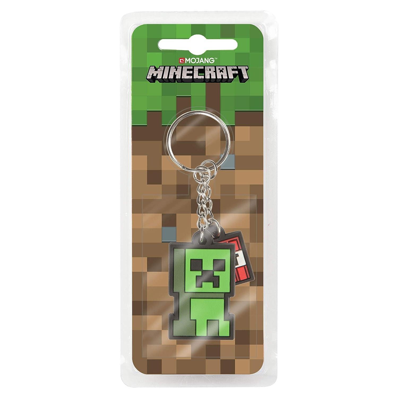 J!nx Minecraft Rubber Keychain Creeper Sprite 4 cm ...