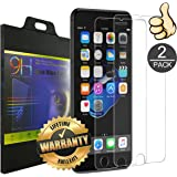 iPhone 7 Plus Screen Protector [2 Pack] by VOKOLY, [9H Hardness] [Crystal Clear] [Buble Free] [3D Touch Compatible] Tempered Glass Screen Protector for Apple iPhone 7 Plus (iPhone 7Plus)