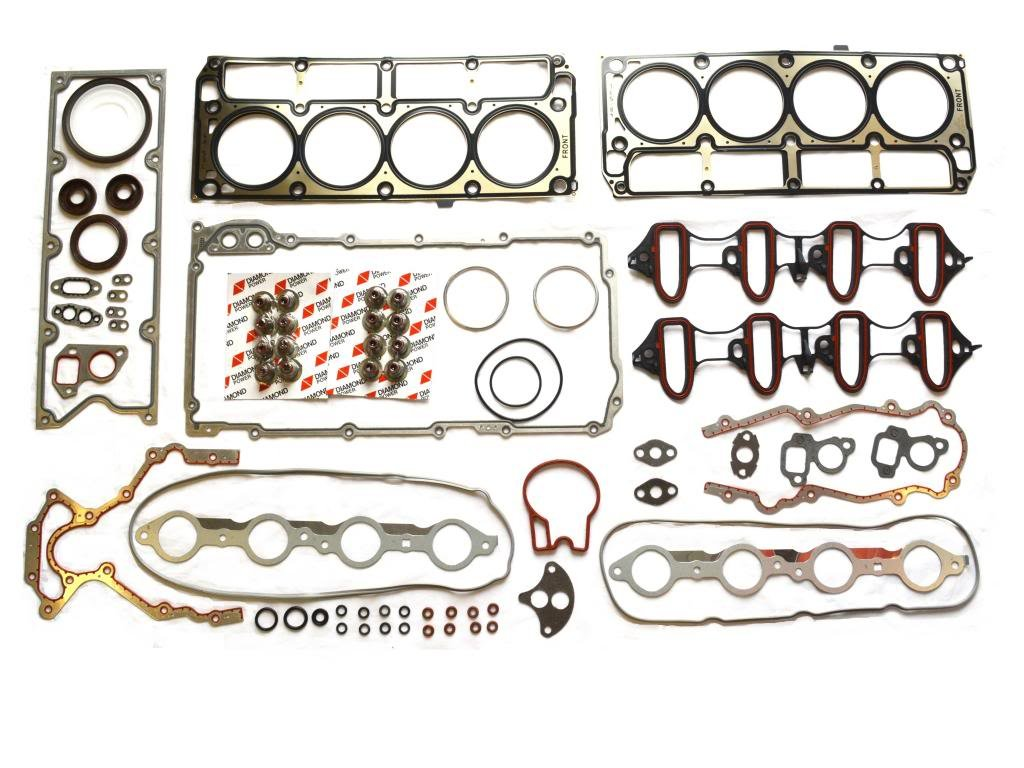 Chevrolet Suburban Avalanche Silverado Tahoe GMC Sierra Savana Express Buick Rainier Escalade 4.8L /5.3L OHV Full Gasket Set by Diamond Power