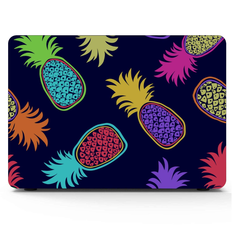 MacBook Air Laptop Case Summer Sweet Fresh Fruit Pineapple Plastic Hard Shell Compatible Mac Air 11 Pro 13 15 Case MacBook Pro Protection for MacBook 2016-2019 Version