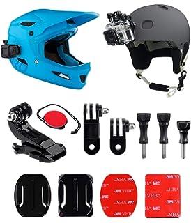 micros2u 9 piezas casco frontal + lateral Kit de montaje, incluye J-Hook hebilla