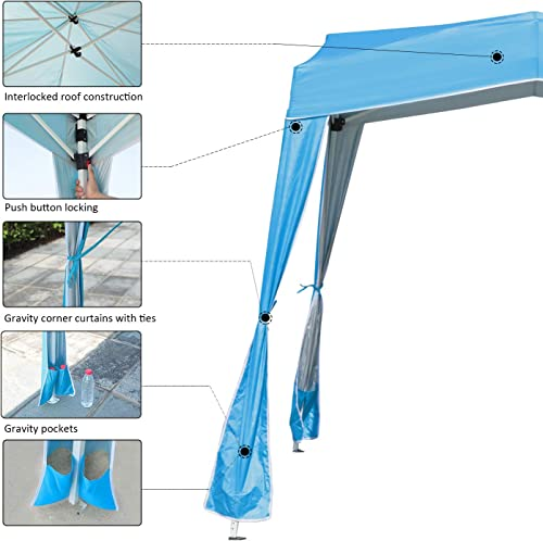 EzyFast Resort Style Pop Up Outdoor Canopy