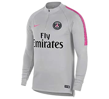 87a2e8080c57 Nike Dry PSG Squad Drill Top Junior  Amazon.co.uk  Sports   Outdoors