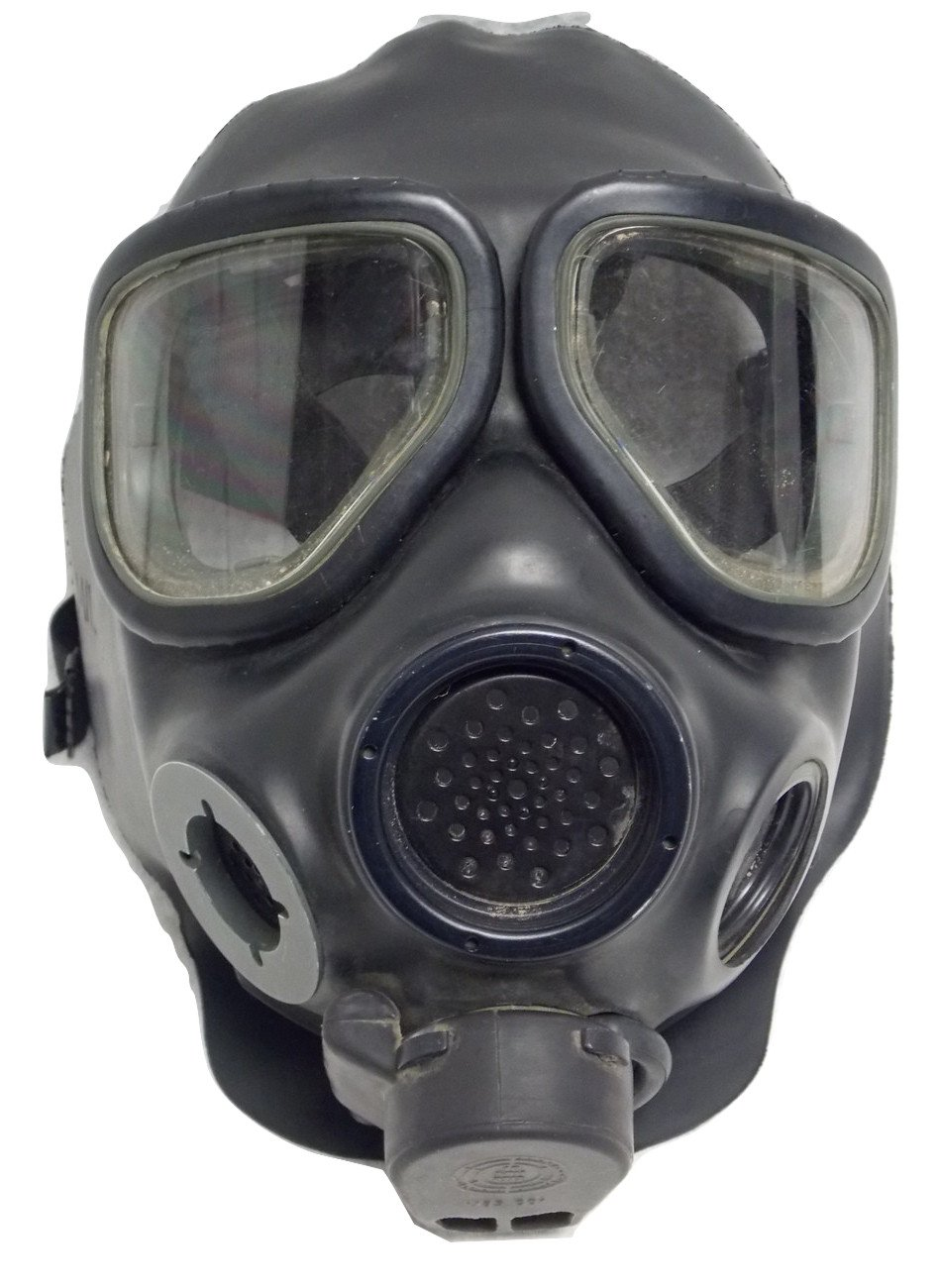 3M FULL FACE RESPIRATOR FR-M40 GAS MASK SIZE LARGE