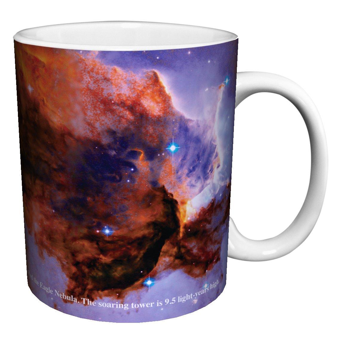 11 Oz Enormous Eagle Nebula Galaxy Planet Inspirational Photography Ceramic Gift Coffee Mug Tea, Cocoa