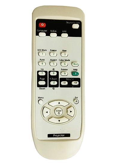 Clob Proyector mando a distancia para proyector Epson EMP-500 ...
