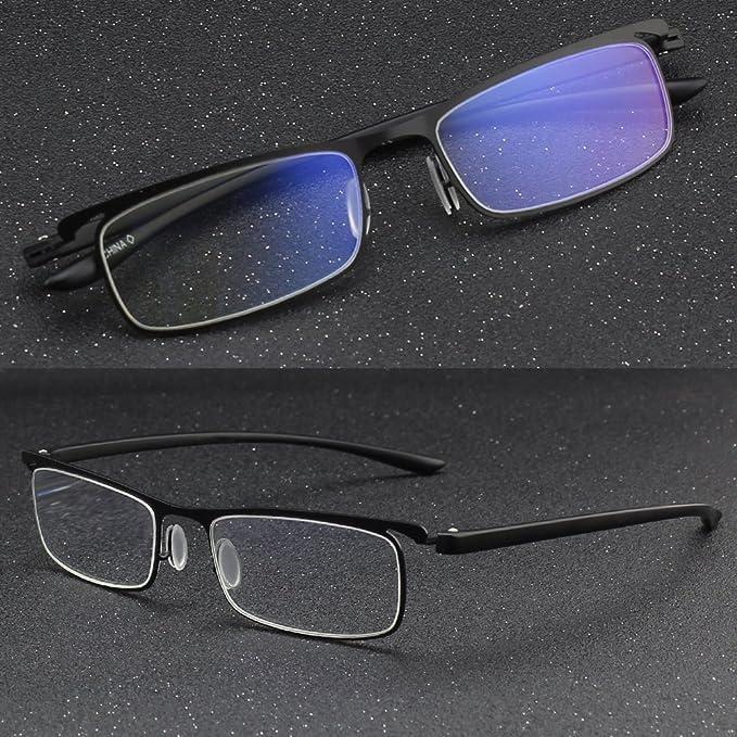 826f274475d10f CGID lunettes de lecture Anti lumière bleue en TR90, pour hommes et femmes,  QKX001  Amazon.fr  Hygiène et Soins du corps