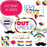 10x12 FT Photography Backdrop Worn Out Pride Flag Old Glory Patriotism Freedom LGBT Themed Design Background for Kid Baby Boy Girl Artistic Portrait Photo Shoot Studio Props Video Drape Vinyl