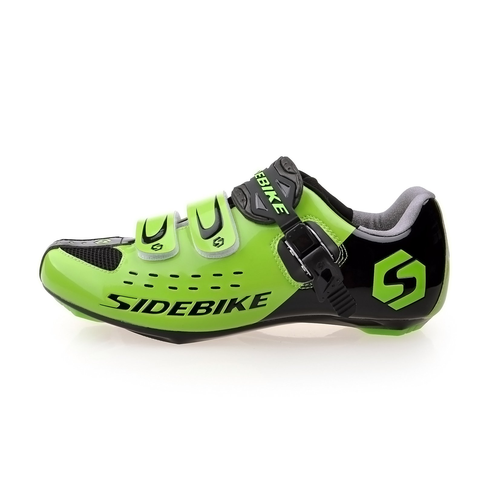 Smartodoors MTB Road Cycling Shoes with Carbon Soles SD002 (US12/EU45/Ft28.5cm)