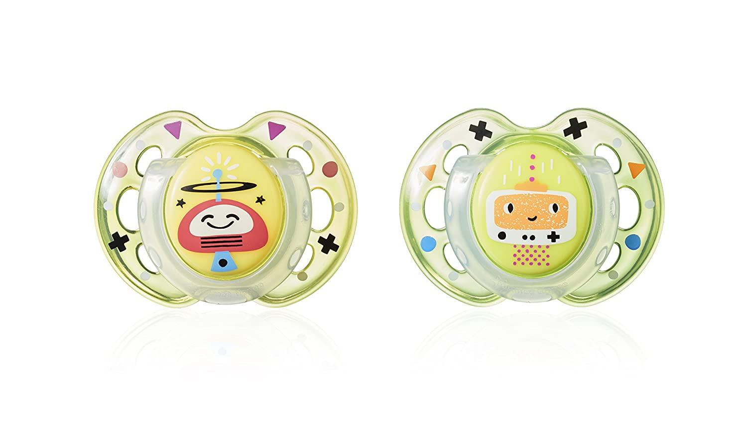 Tommee Tippee Soother (6-18 Months)- Designs may vary 6305213