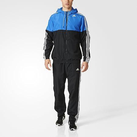 muñeca Rizado apelación  adidas TS TRAIN WV - Tracksuit for Men, 180, Black: Amazon.co.uk: Sports &  Outdoors