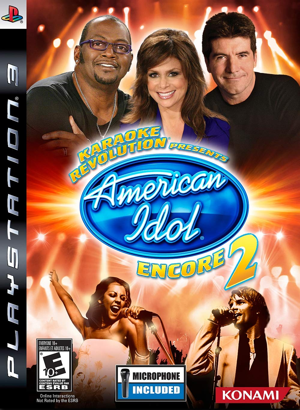 Amazon Com Karaoke Revolution Presents American Idol Encore 2 Game Only Video Games
