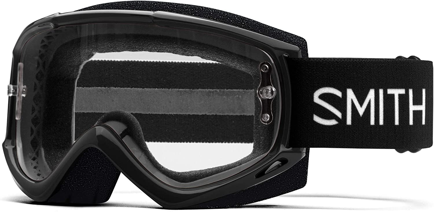 SMITH Optics Fuel V.2 Bike Goggle (Black, Clear AF)
