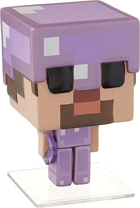 Funko Pop Minecraft Steve In Enchanted Armor Toys R Us Exclusive Figure 324 Toys Games Amazon Com