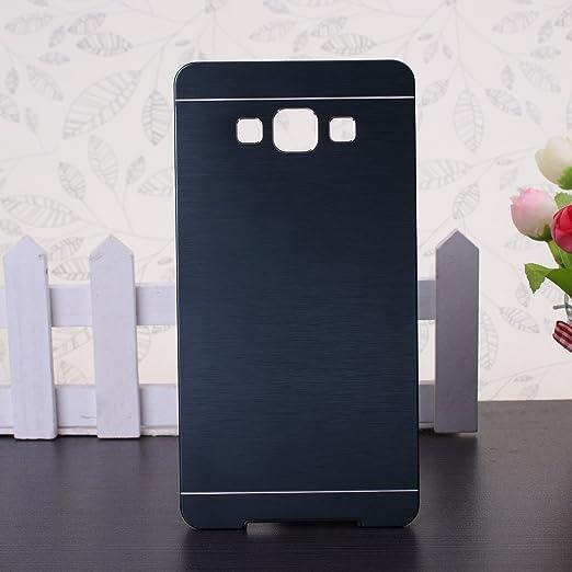 55 opinioni per Galaxy A7 Custodia, Wkae® A7 Custodia Samsung Galaxy, lusso spazzolato copertura
