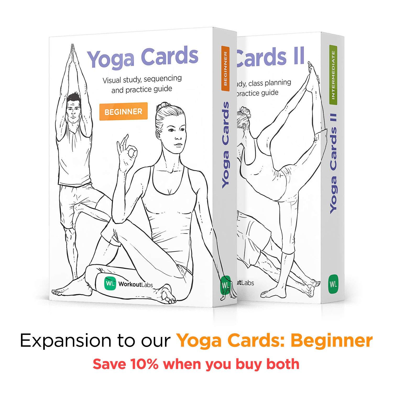 Intermediate Premium Visual Study WorkoutLabs Yoga Cards II 50 ...