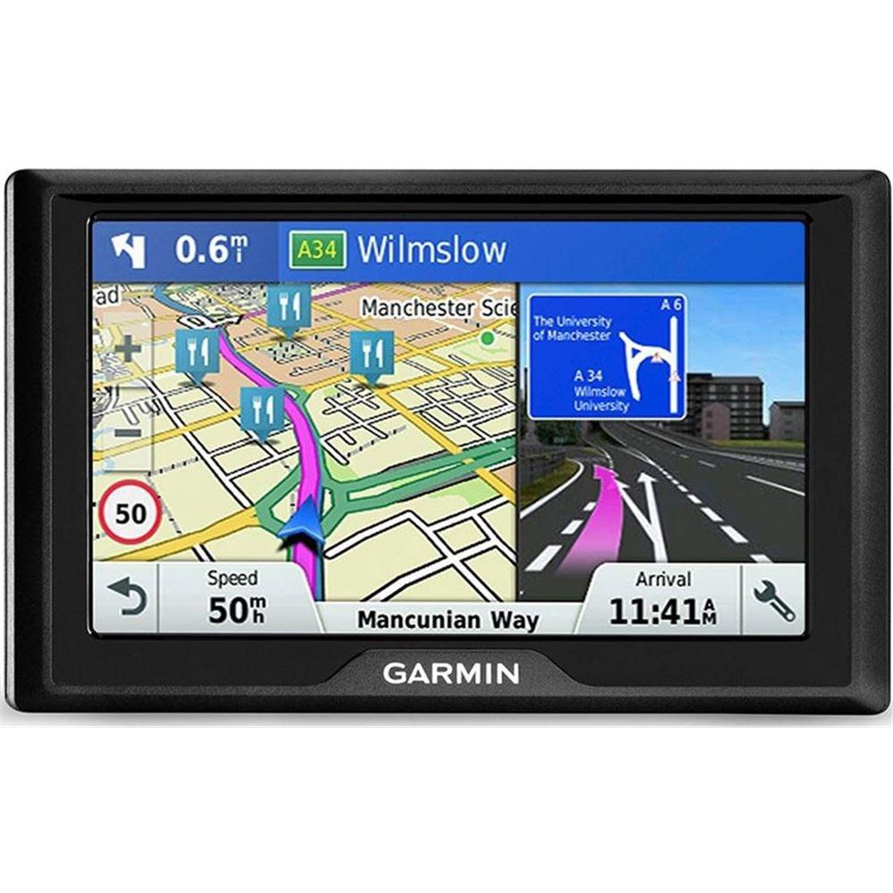 'Garmin Drive 51 LMT-s Fixe 5 'TFT é cran Tactile 170.8 G Noir Navigateur –  Navigateur GPS (12,7 cm (5), 480 x 272 Pixels, TFT, Horizontal, SSD, microSD (Transflash)) 7cm (5) 480x 272Pixels