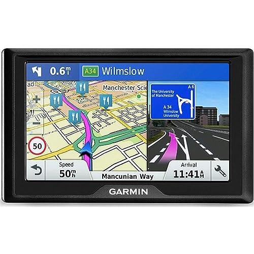 """'Garmin Drive 51LMT-s Fixe 5""""TFT écran Tactile 170.8G Noir Navigateur–Navigateur GPS (12,7cm (5), 480x 272Pixels, TFT, Horizontal, SSD, microSD (Transflash))"""