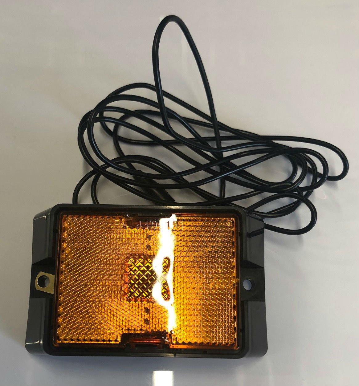 Shorelander 5110427 Amber Sidemarker Light