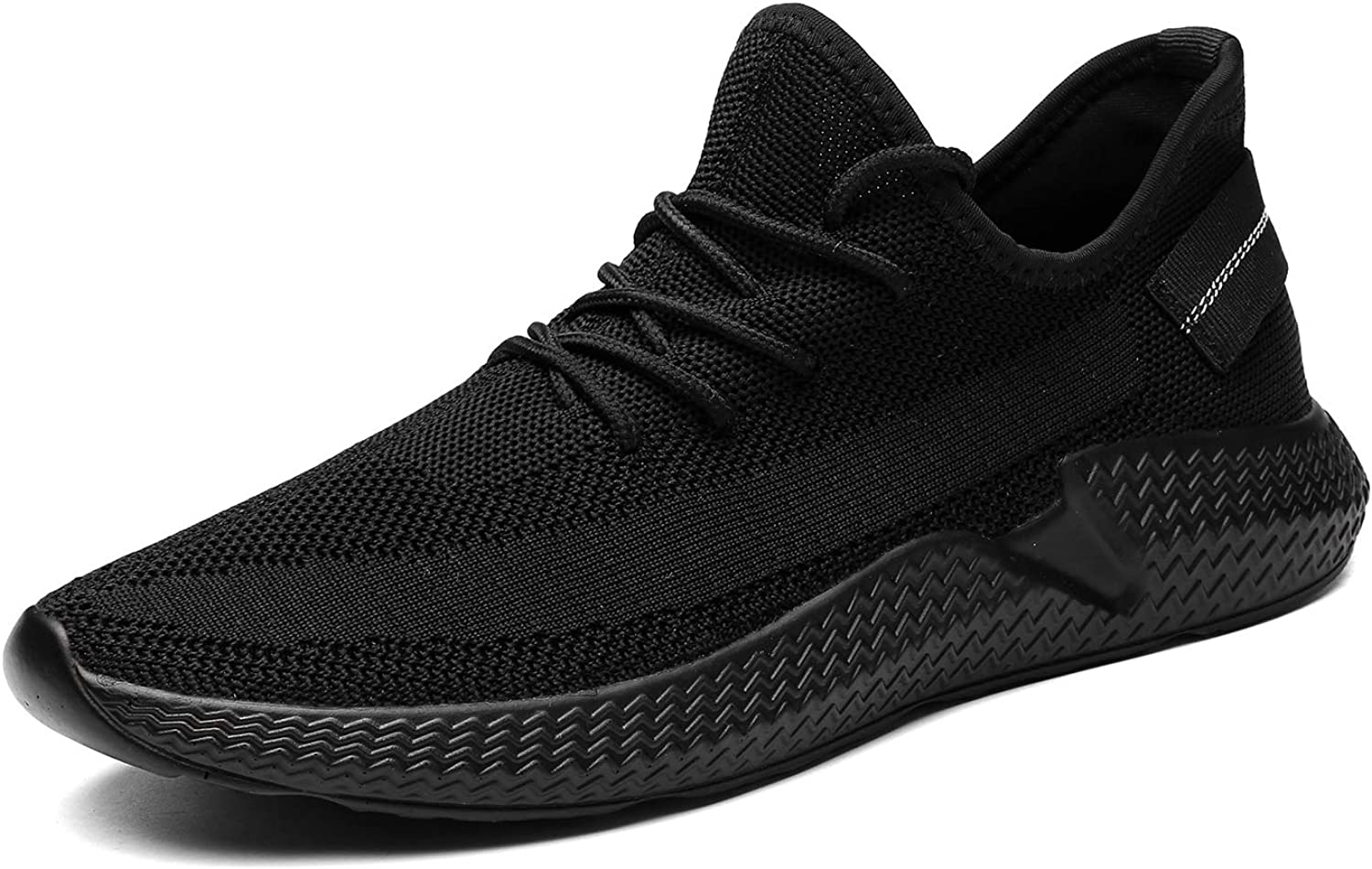 Kvovzo Mens Walking Athletic Shoes Comfort Casual Sneaker Trail Running Shoe for Men Tennis Baseball Racquetball Cycling