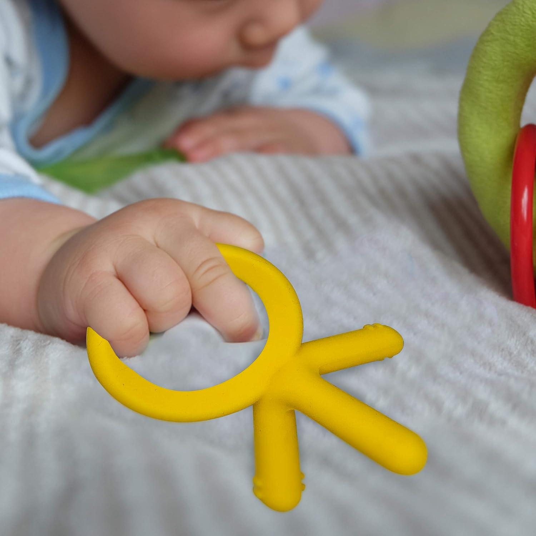 Amazon.com: Olyssa & Co Silicone Teether: Baby