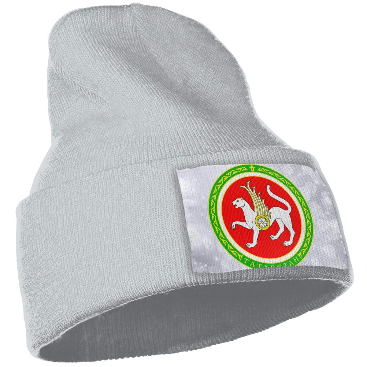 JimHappy Coat of Arms of Tatarstan Hat for Men and Women Winter Warm Hats Knit Slouchy Thick Skull Cap