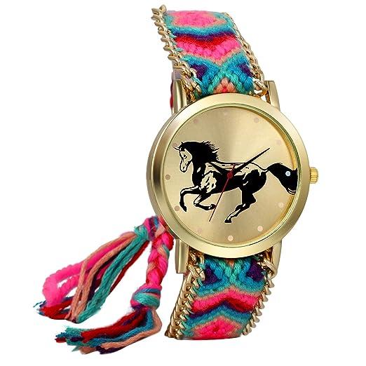 965932566054 JewelryWe Boho Reloj De Pulsera Étnica De Mujeres