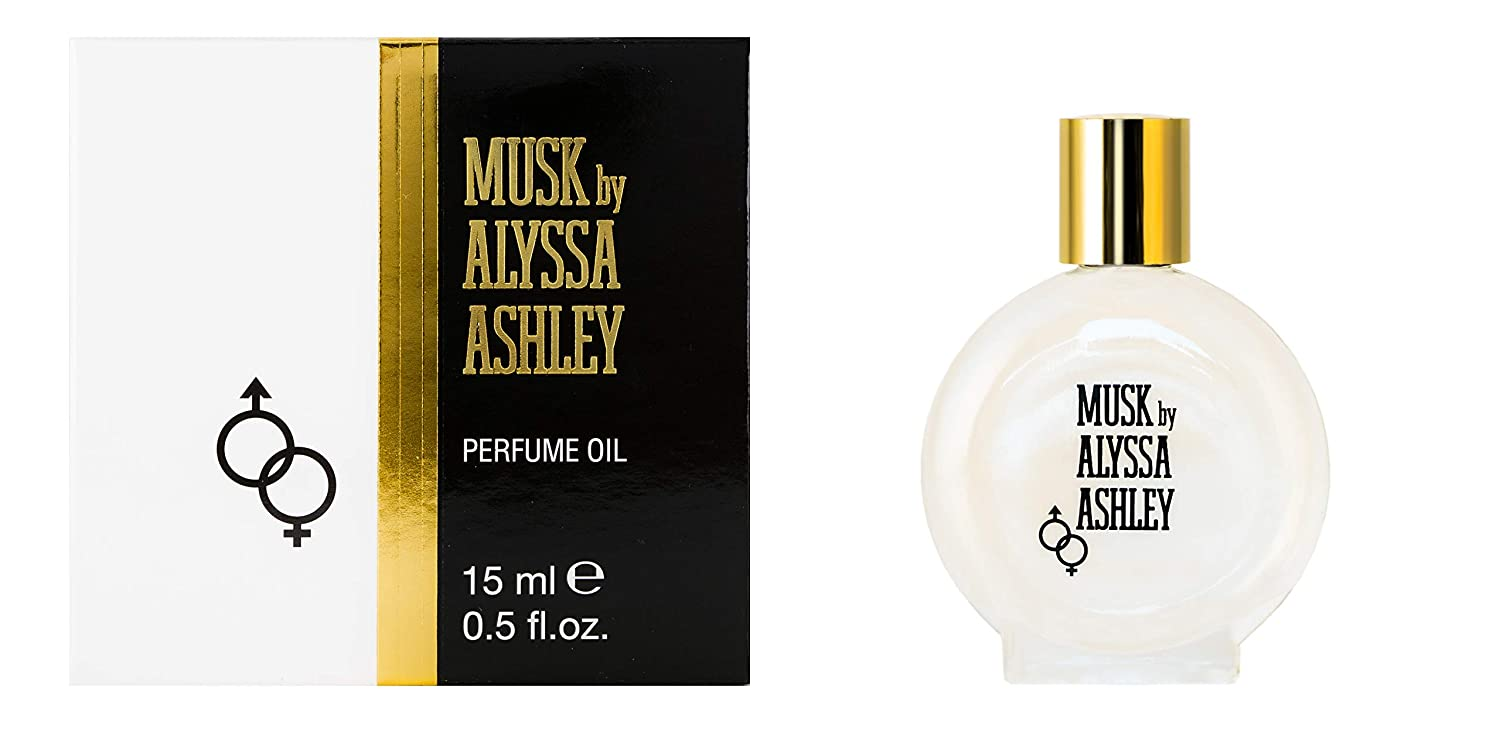 Alyssa Ashley Musk By Houbigant 0.5 oz Perfumed Oil for Women