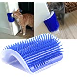 Self Groomer with Catnip, Massage Perfect Tool for Cats with Long & Short Fur