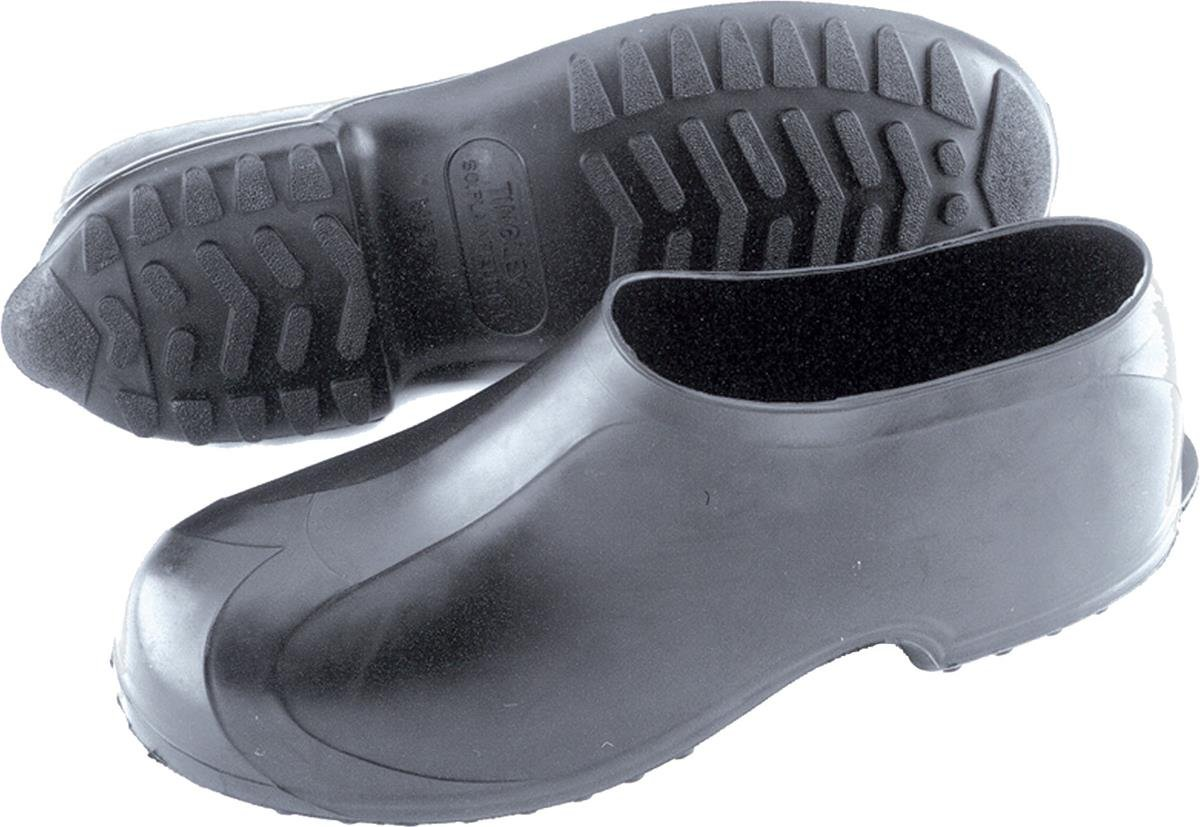 TINGLEY Men's High Top Work Rubber Stretch Overshoe,Black,3XL(14-15.5 US Mens) by TINGLEY