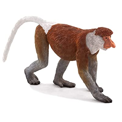 Mojo Proboscis Monkey Toy Figure: Toys & Games