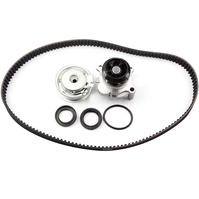 SCITOO Engine Timing Belt Kit Fits 1999 2000 2001 2002 2003 2004 2005 Volkswagen Jetta 2.0L