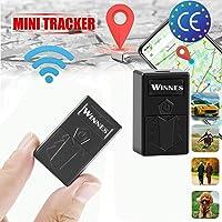 Zeerkeer Mini GPS Tracker,TK 921 Localizador GPS para motocicleta, Rastreador GPS antirrobo con posicionamiento de WiFi…