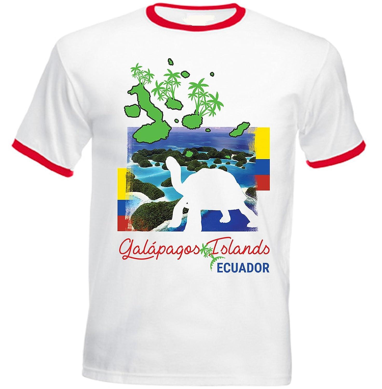teesquare1st Galapagos Ecuador Tshirt de Hombre con Bordes ...