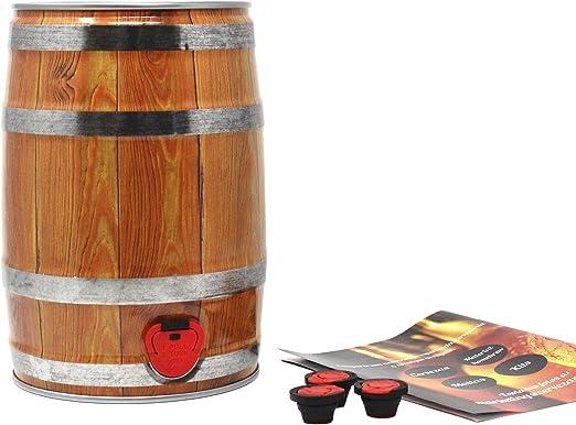 Party Keg Cervezanía. Set de embarrilado para cerveza artesana: Amazon.es: Alimentación y bebidas