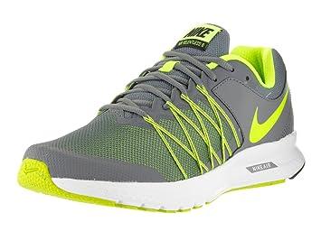 NIKE Men's Air Relentless 6 Cool Grey/Volt/Black/White Running Shoe 7.5