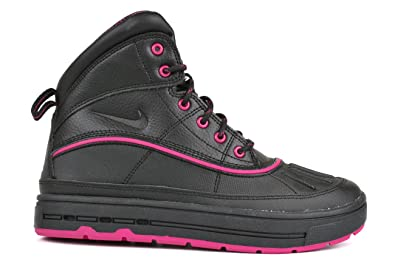 premium selection 43805 277f9 Nike Woodside 2 High Black Black-Fireberry (Big Kid) (5 M